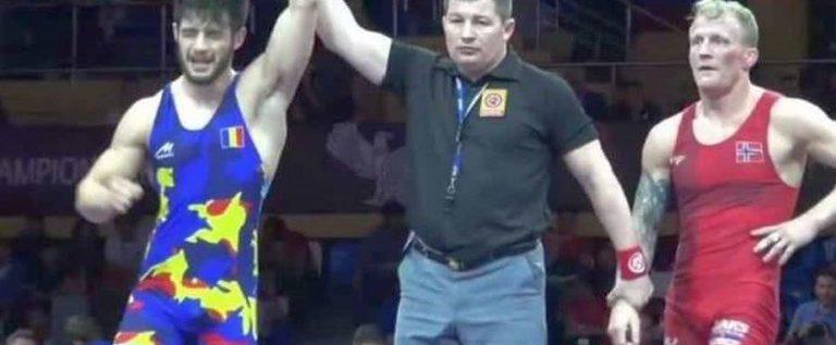 Luptătorul arădean Mihai Mihuţ este campion european!