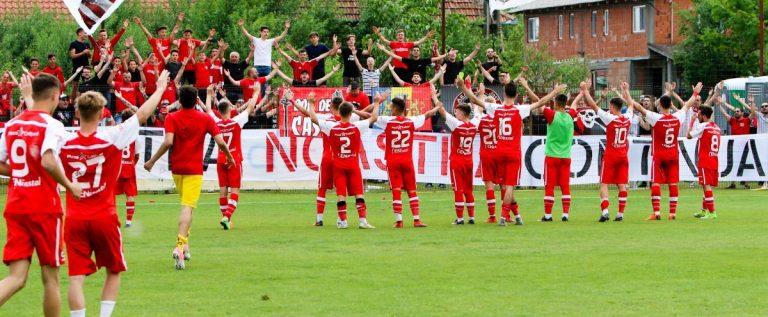 Juniorii roş-albi s-au calificat în finala Cupei României