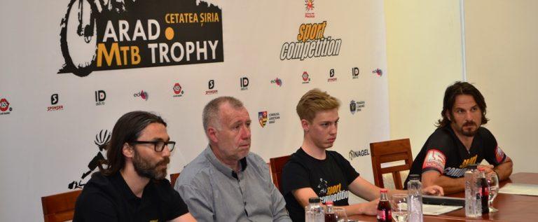 """În septembrie luăm startul la """"Arad Montain Bike Trophy"""""""