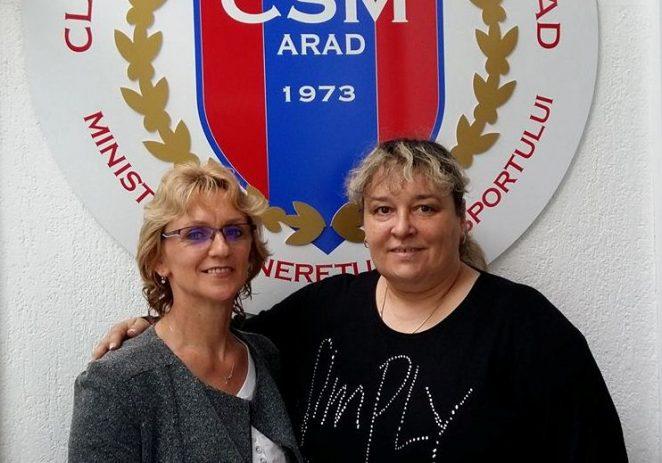 Emilia Eberle ar putea antrena, pe viitor, la CSM Arad!