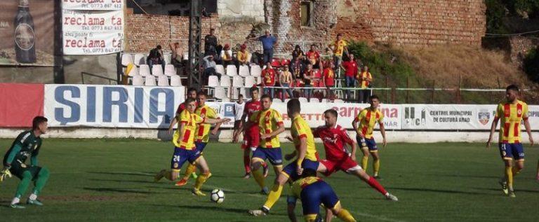 UTA şi-a bătut joc de suporteri, la ultimul meci în Şiria