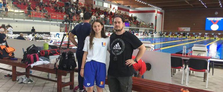 Alexia Băşcărău, al doilea an consecutiv în lotul naţional