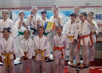 Medalii pe tatami, la Naţionalele de judo sub 13 ani