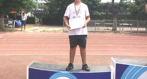 Atlet arădean, dublu medaliat la Naţionalele copiilor