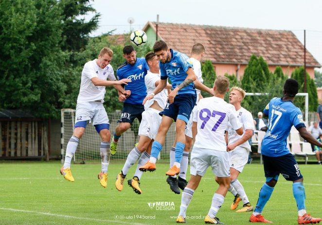 UTA a câştigat în stil italian amicalul cu Szeged