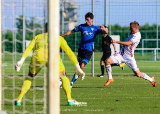 Debrecen – UTA 1-0, într-un amical disputat în Ungaria