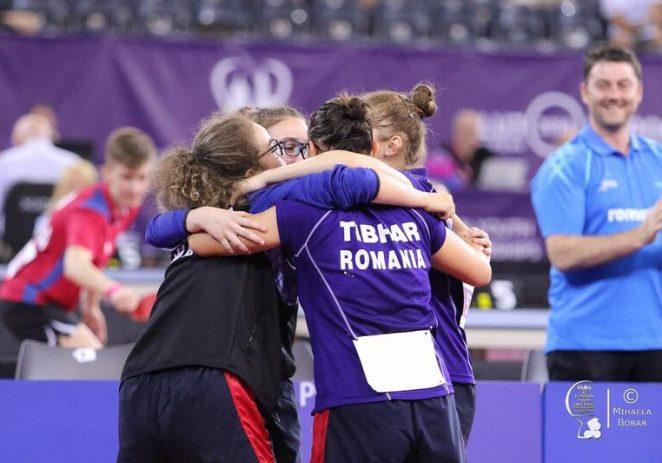Irina Rus e campioană europeană la tenis de masă