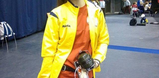 Pistolara Daria Haristiade a ţintit Jocurile Olimpice!