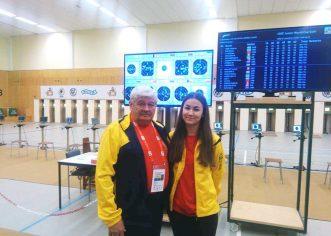 Pistolara Daria Haristiade a ţintit Cupa Mondială
