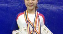 Dorina Tofan e triplă campioană europeană la haltere
