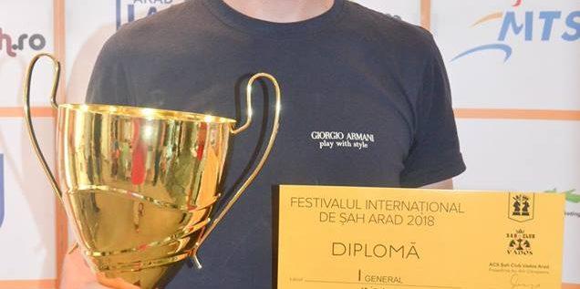 Marele maestru Levente Vajda a câştigat Arad Open