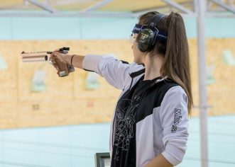 Pistolara Daria Haristiade dă examenul mondial!