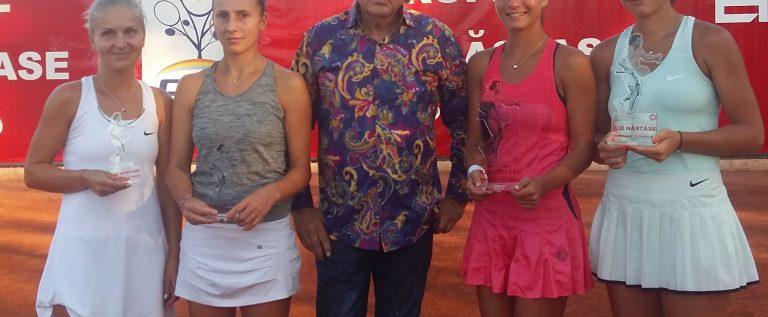 Mitu, semifinalistă la Arad. Românce, campioane la dublu