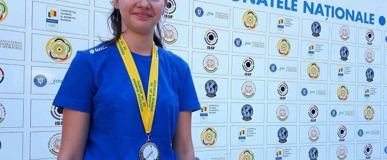 Talerista Briana Vărcuş a urcat pe podium