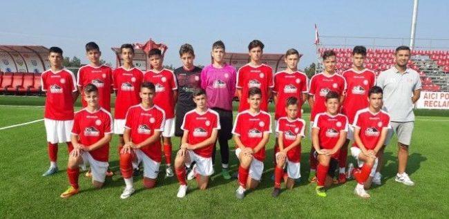 Viitorul 2004 a cucerit trofeul la Cupa Aradului