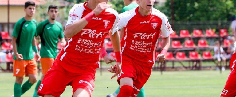 Utistul David Miculescu a marcat sub tricolor