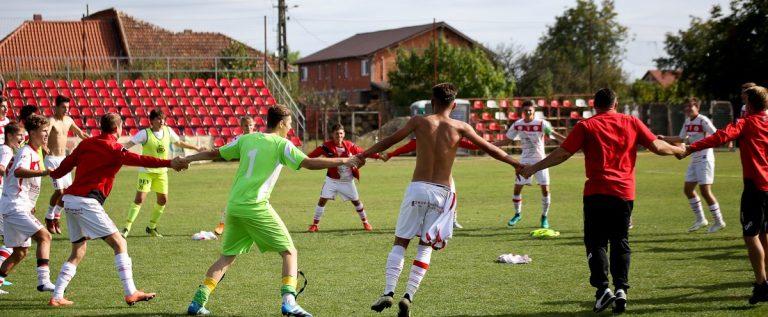 Juniorii roş-albi s-au calificat în Liga Elitelor