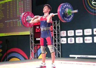 Emanuel Danciu e noul sportiv olimpic al Aradului!