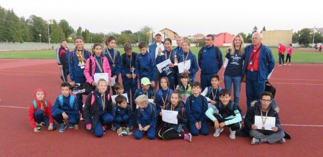 Micii atleţi ai Gloriei s-au remarcat la Cupa Aradului
