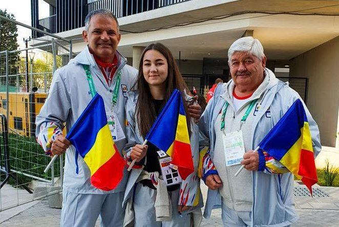 Pistolara Daria Haristiade a ţintit la Jocurile Olimpice