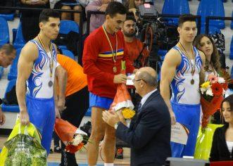 Gimnastul Adelin Kotrong, multiplu medaliat la Naţionale