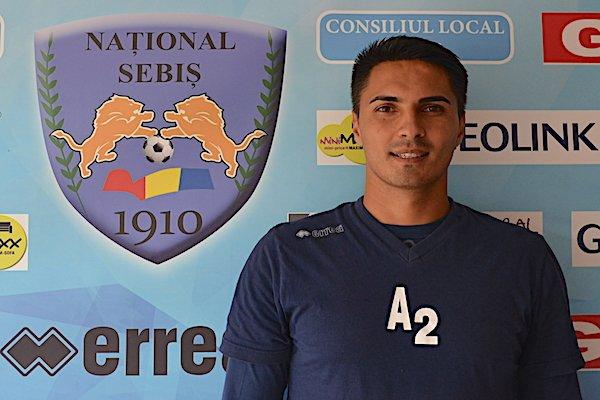 Cosmin Merşca e noul antrenor principal al Sebişului