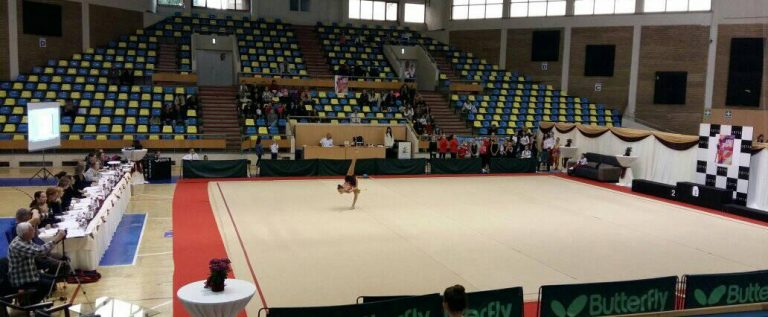 """Gimnastele de la ritmică au fost în top la """"Arad Trophy"""""""