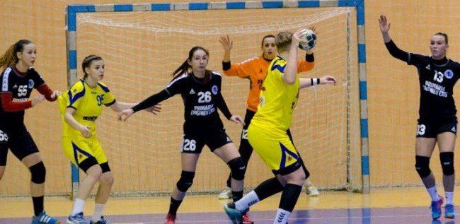 Handbalistele au câştigat duelul vestic, cu Timişoara
