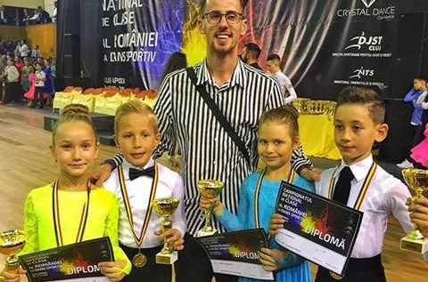 Două titluri naţionale pentru Dum Dance Team Arad
