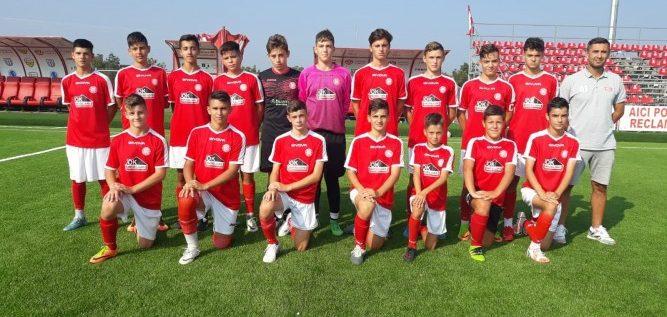 Viitorul şi Atletico, victorii juvenile în fotbalul arădean