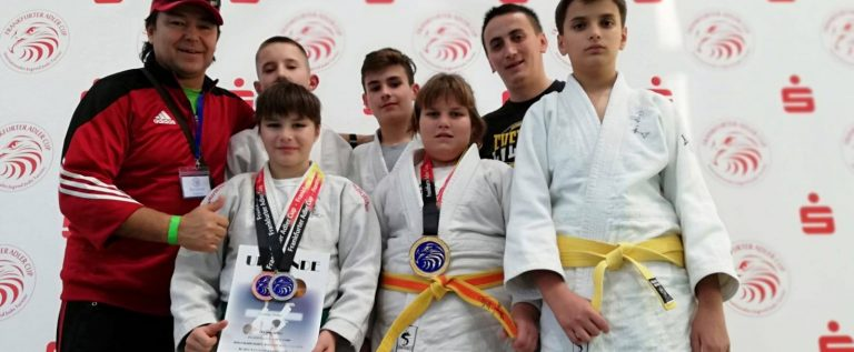 Medalii arădene pe tatami, la un concurs în Germania