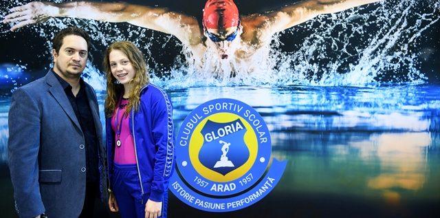 CSS Gloria a achiziţionat o înotătoare timişoreană