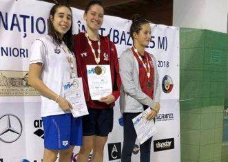 Înotătoarea Andreea Popescu s-a remarcat la Naţionale