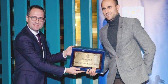 Marius Copil e cel mai bun tenismen român al anului