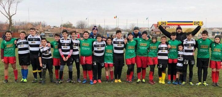 Rugbiştii juniori de la CSU s-au calificat la turneul final