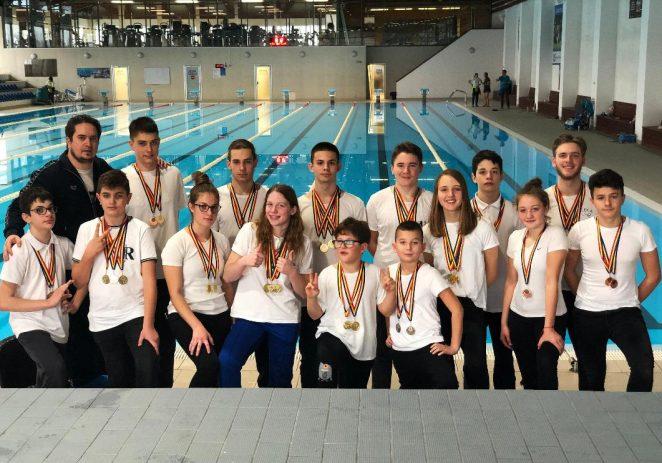 CSS Gloria a câştigat un concurs internaţional de înot