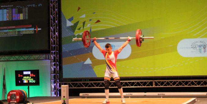 Halterofilul Cosmin Krupla are start mondial de sezon
