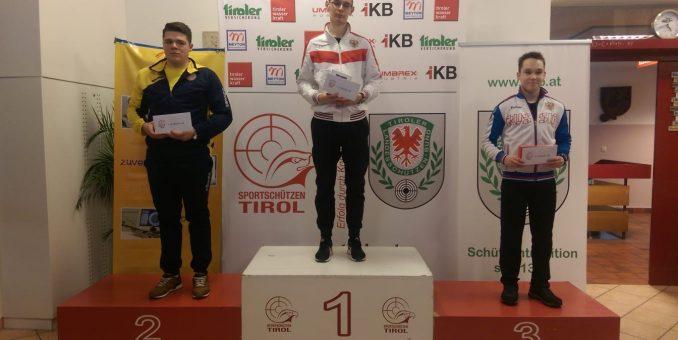 Pistolarul Casian Codrean a ţintit podiumul la Innsbruck