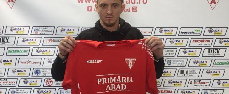 UTA primeşte întăriri din Liga 1: a semnat Alin Şeroni!