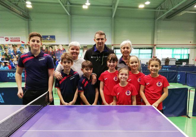 O nouă generaţie, la secţia de tenis de masă a CSM-ului