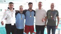Înotătorii masters, medaliaţi la un concurs pe Bega