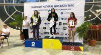 Bilanţ de opt medalii pentru înotătorii CSM-ului, la Naţionale