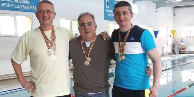 Înotătorii masters arădeni au făcut valuri la Timişoara