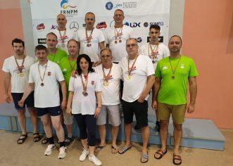 Înotătorii CSM-ului s-au remarcat la Naţionalele masters