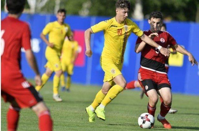 Utistul Miculescu a fost titular în tricoul naţionalei U19