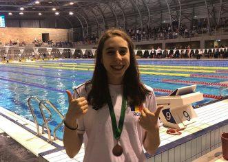 Andreea Popescu a cucerit trei medalii la Openul de la Gyor