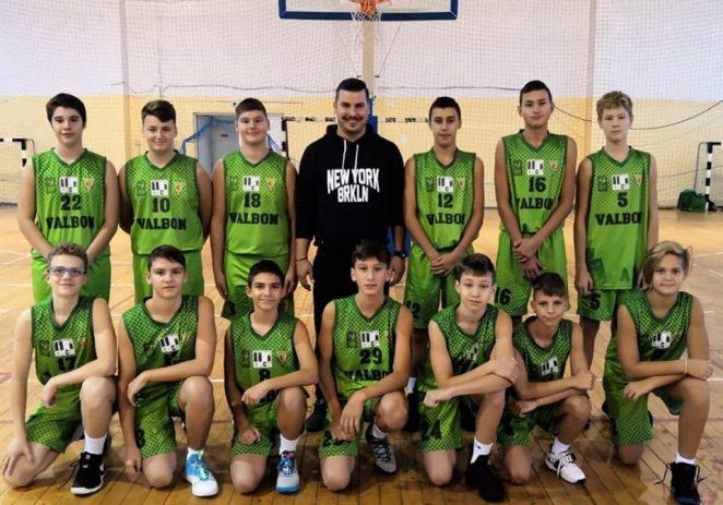 Juniorii de la BC Valbon, la faza semifinală naţională