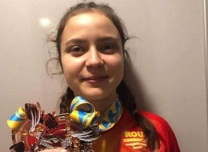 Halterofila Dorina Tofan, sportivul anului la CS AMEFA