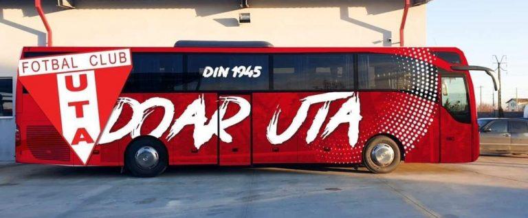 UTA a demarat spre Ciuc la bordul unui autocar personalizat