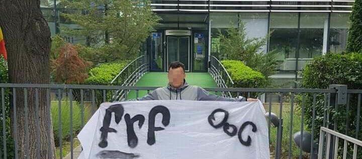 Cod roşu la FRF: mesajul ultraşilor UTA-ei a ajuns la Casa Fotbalului!